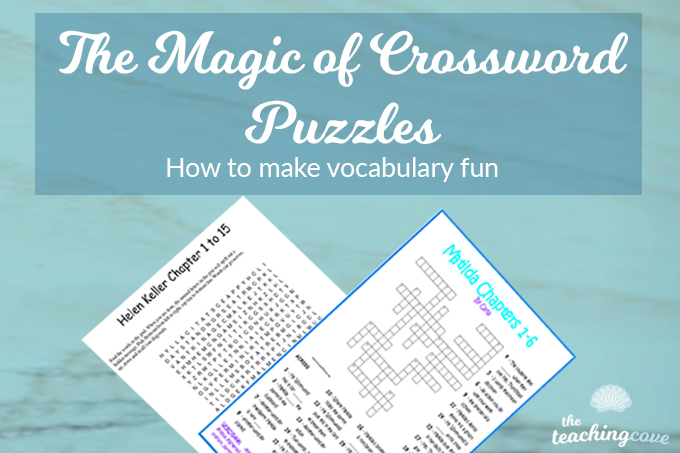 The Magic of Crossword Puzzles: Vocabulary Fun!