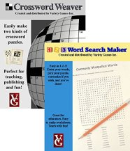 Crossword Weaver and Word Search Maker