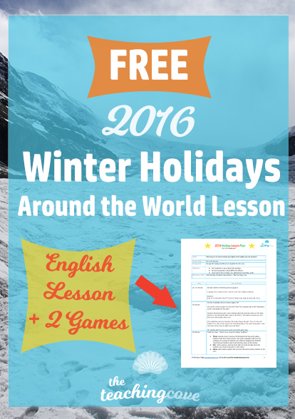 2016 Free Holiday Lesson Plan