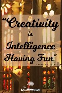 Creativity is intelligence