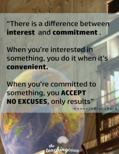 Motivational Monday - Accept No Excuses