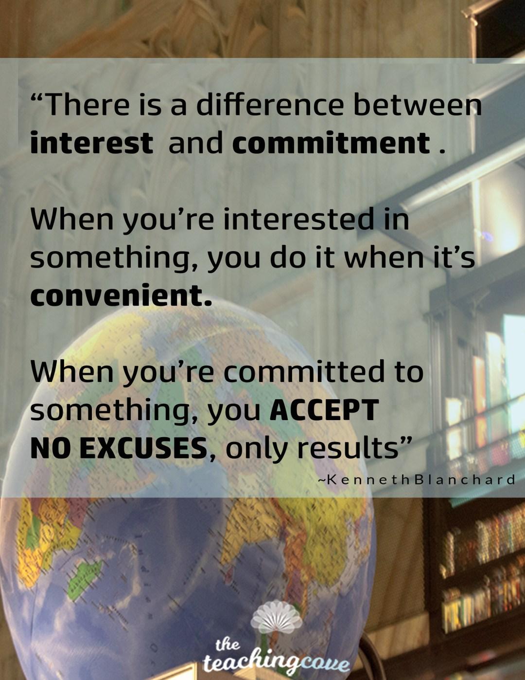 Accept No Excuses