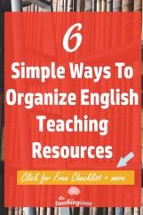 6 Simple Ways To Organize