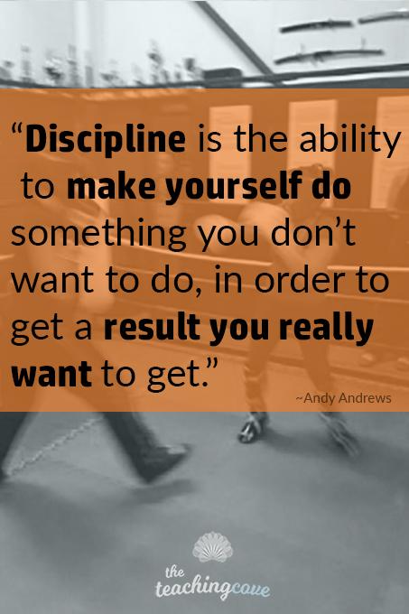 Discipline Is - Motivational Monday