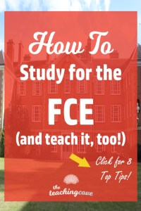 How to Study For The FCE