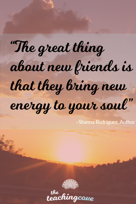 Friends bring new energy