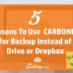 Why I Use Carbonite For Backup Instead of Google Drive or Dropbox – (& You Should, Too)