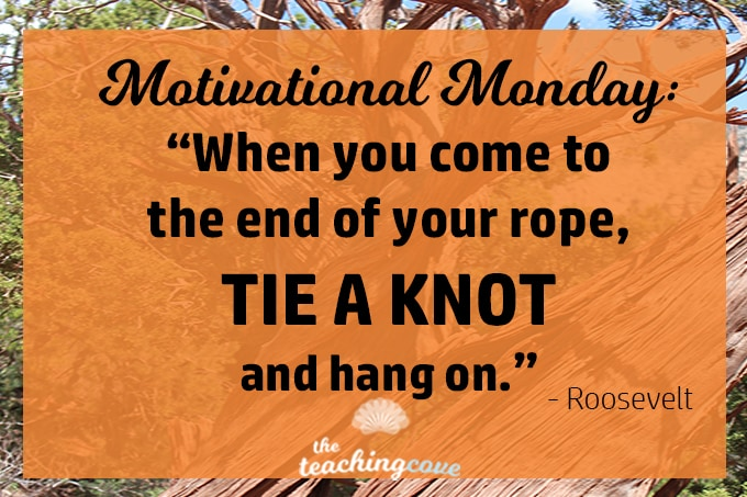 Motivational Monday: On Perseverance, Grit & Hanging In There