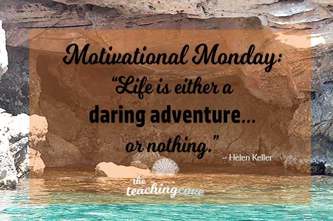 Motivational Monday 48 featured - Adventure