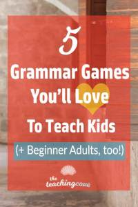 5 Grammar Games for Kids and Adults