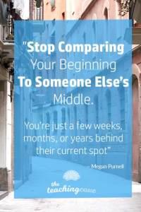 Motivational Monday 62 Compare