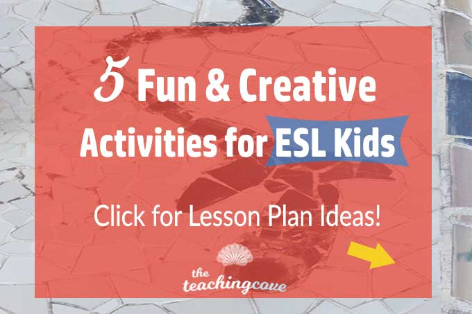5 Fun & Creative English Activities for Kids (ESL Lessons)