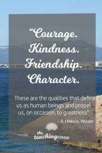 Motivational Monday 64 Character Greatness