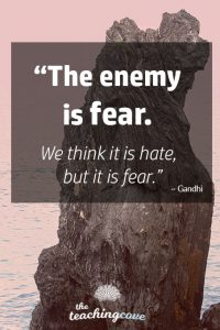 Motivational Monday 75 Fear Is The Enemy