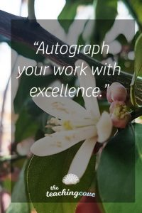 Motivational Monday 76 Excel and Excellence