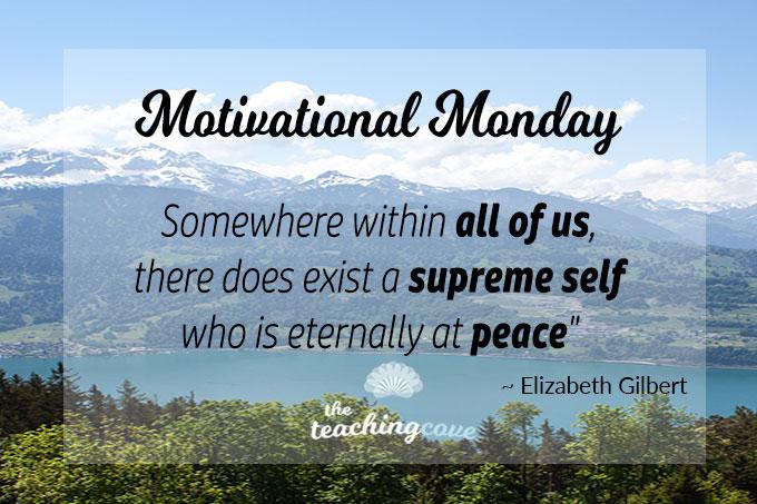 Motivational Monday:  Eternally At Peace – On A Sense of Mental Calm