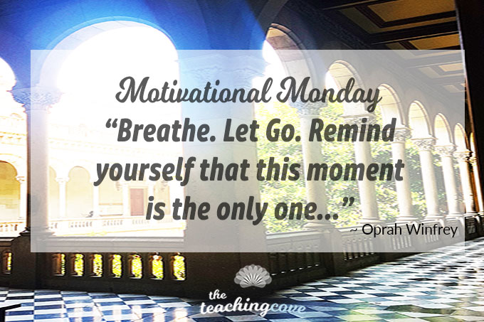Motivational Monday 93 Let Go featured