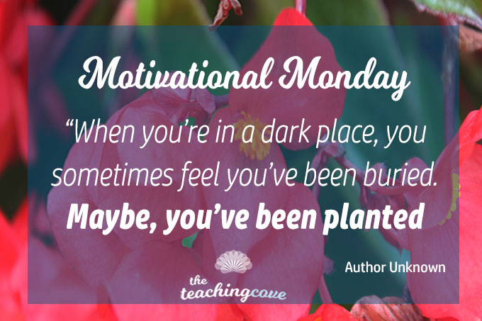 Motivational Monday: When You're In A Dark Place & Feel Buried…
