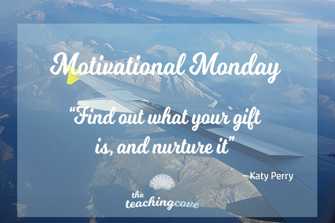 Motivational Monday: On Talent – Find Your Gift & Nurture It