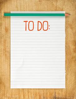 Classroom organization to do list