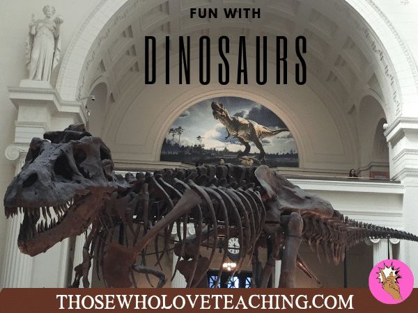Dinosaur Activities for Students