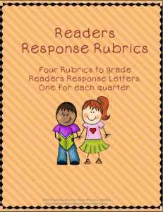 Readers Response Authentic Assessment