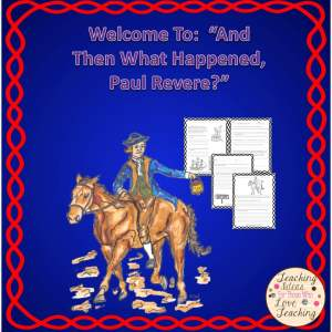 Fun lesson on the life of Paul Revere