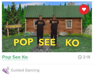 My students beg for Pop See Ko on a daily basis! Love just doesn't describe how they feel about this song/dance.