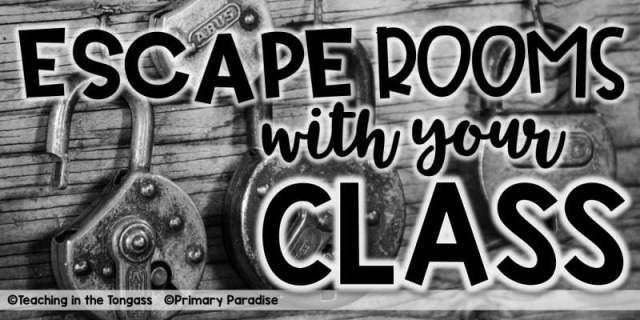 Escape Rooms For The Classroom Economical Educator