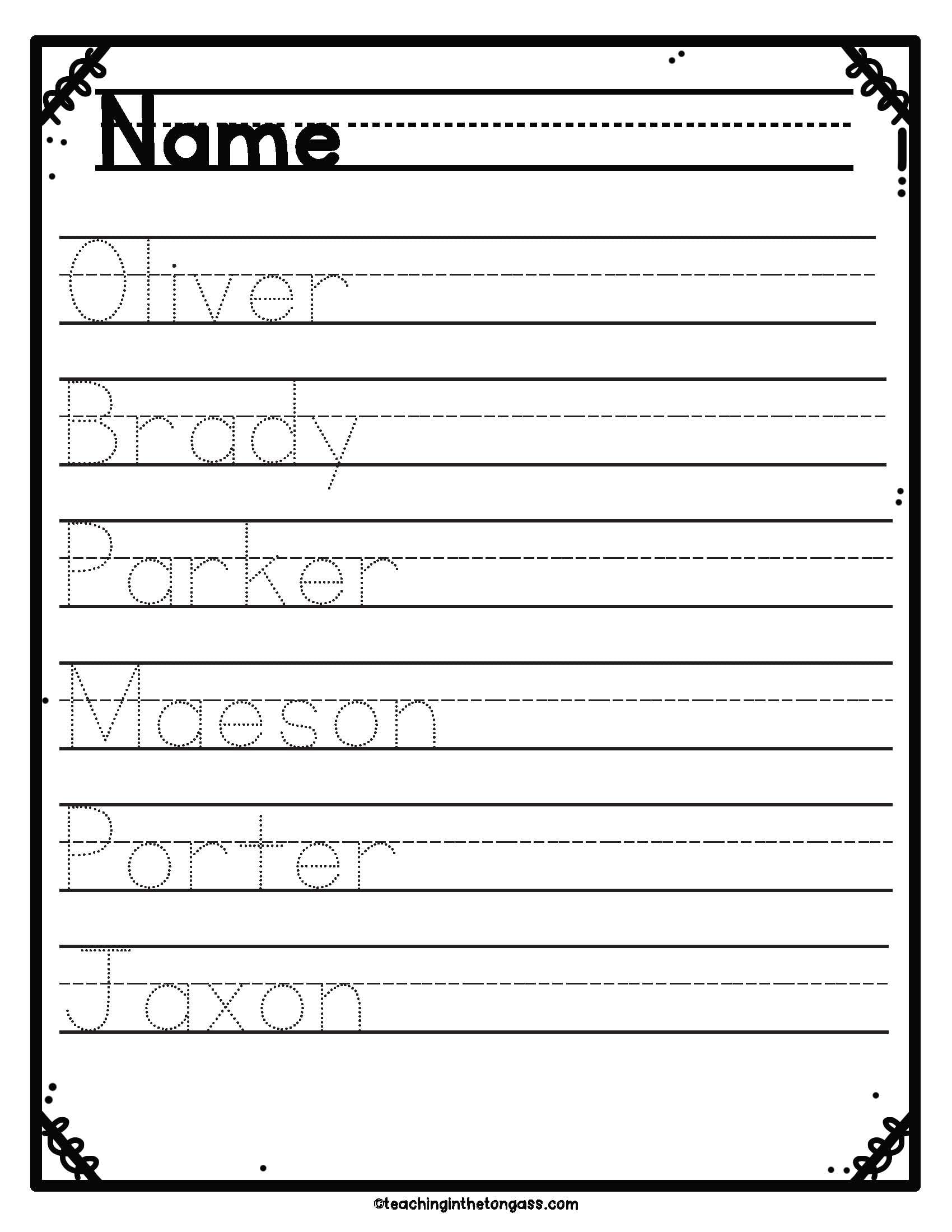 Print Amp Cursive Handwriting Practice Worksheets