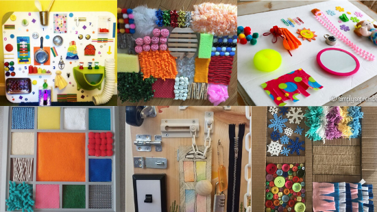 17 Sensory Board DIY Ideas for Busy Babies and Toddlers