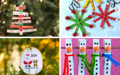 Easy DIY Christmas Ornaments For Kids