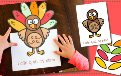 Turkey Name Learning Free Printable