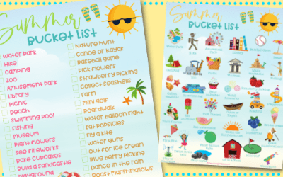 Summer Bucket List for Kids in 2021