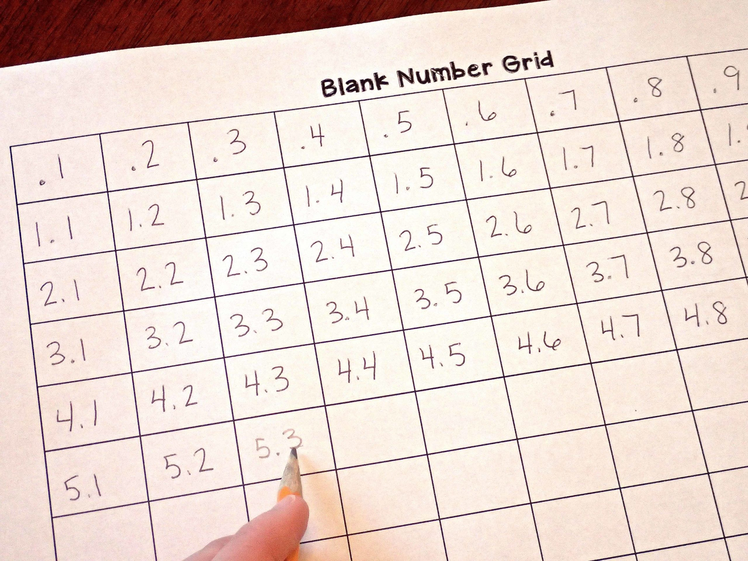 10 Ways To Use Number Grids In Upper Elementary