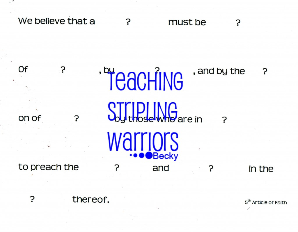 Lesson 39 Stephen The Martyr