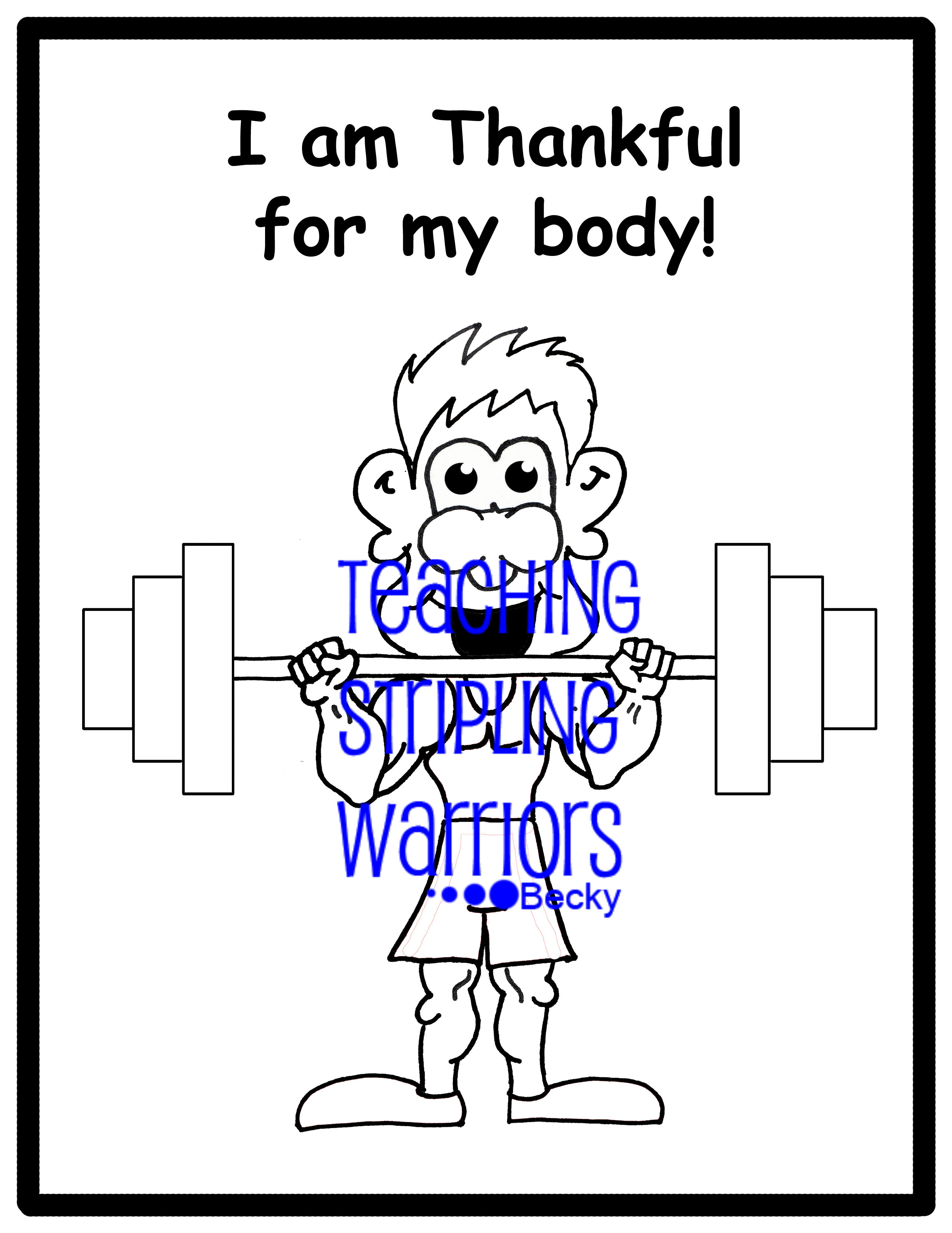i am thankful for god coloring pages - photo #23