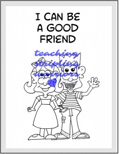 I can be a good friend wm