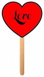 heart popsicle