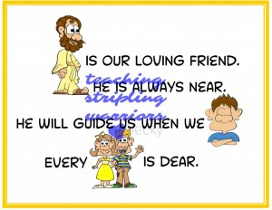 jesus is our loving friend 1 wm