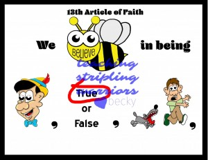 13th article of faith first part wm