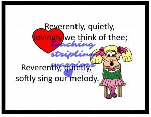 Reverently Quietly 1 wm