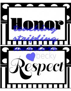 honor respect wm