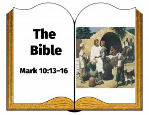 the bible Mark 10 13 16
