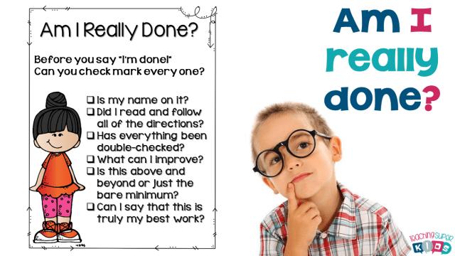 Am I Really Done?