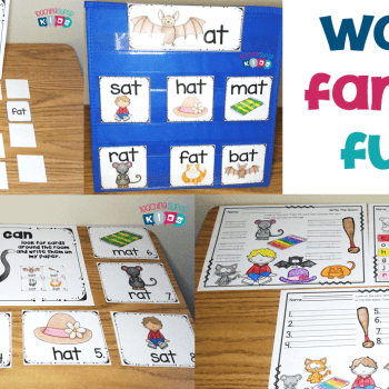 Teaching Word Families in Kindergarten