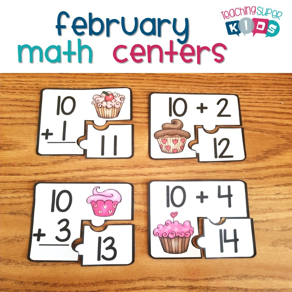 February math centers updated
