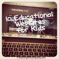 101 educational websites for kids