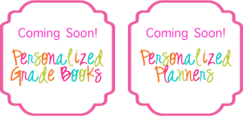 Personalized planners and personalized grade books