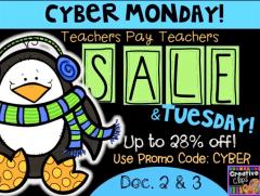 TpT cyber sale